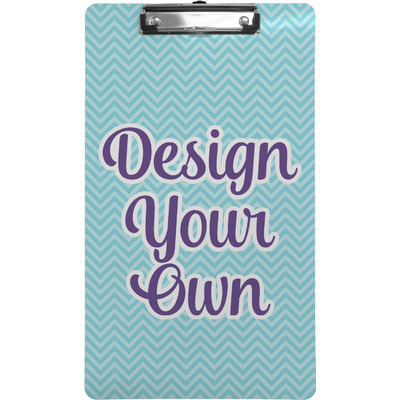 Design Your Own Personalized Clipboard (Legal Size)