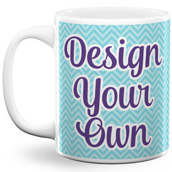 Design Your Own 11 Oz Coffee Mug - White