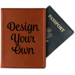 Design Your Own Leatherette Passport Holder (Personalized)
