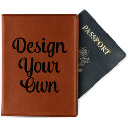 Design Your Own Leatherette Passport Holder