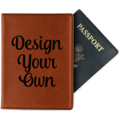 Design Your Own Personalized Leatherette Passport Holder