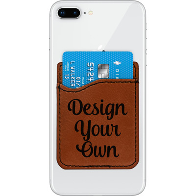 Design Your Own Personalized Leatherette Phone Wallet