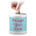 Design Your Own Coin Bank (Personalized)