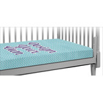 Design Your Own Crib Fitted Sheet (Personalized)