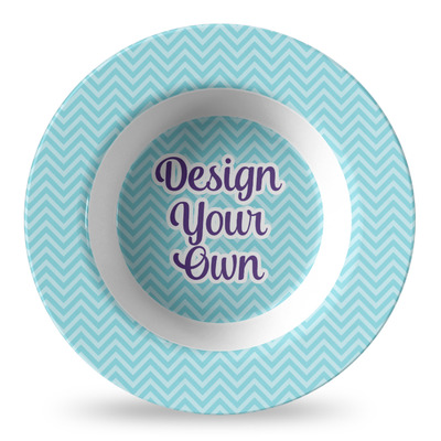 Design Your Own Personalized Plastic Bowl - Microwave Safe - Composite Polymer