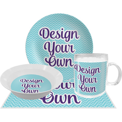 Design Your Own Personalized Dinner Set - 4 Pc