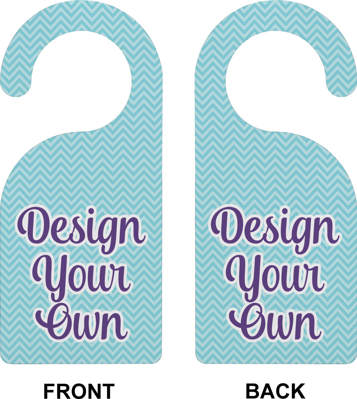 Design Your Own Door Hangers: Design Your Own Door Hanger (Personalized)