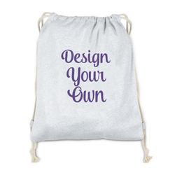 Design Your Own Drawstring Backpack - Sweatshirt Fleece