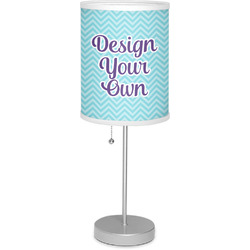"""Design Your Own 7"""" Drum Lamp with Shade Polyester (Personalized)"""