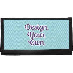 Canvas Checkbook Covers