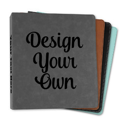 """Design Your Own Leather Binder - 1"""""""