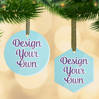 Design Your Own Flat Glass Ornament