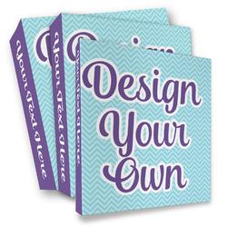 Design Your Own 3 Ring Binder - Full Wrap