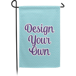 Design Your Own Single Sided Garden Flag