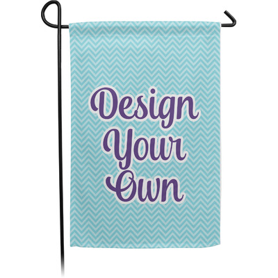 Design Your Own Personalized Single Sided Garden Flag With Pole