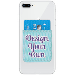 Genuine Leather Adhesive Phone Wallets