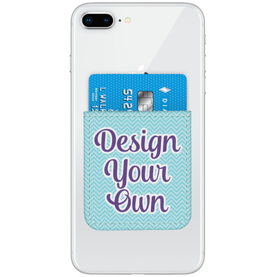 Design Your Own Personalized Genuine Leather Adhesive Phone Wallet