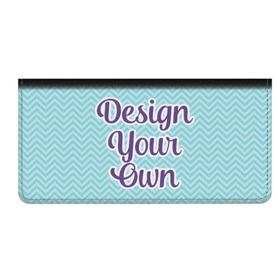 Design Your Own Genuine Leather Checkbook Cover