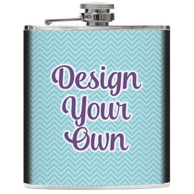 Design Your Own Genuine Leather Flask