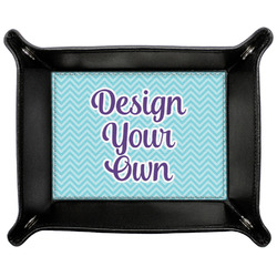 Design Your Own Genuine Leather Valet Tray (Personalized)