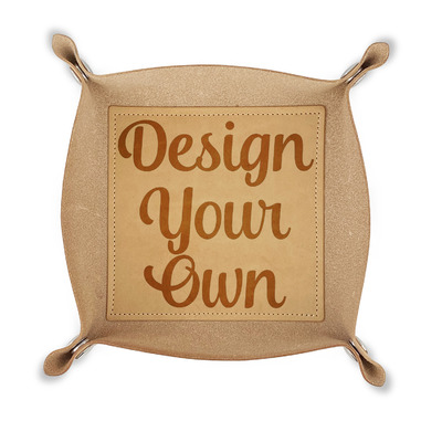 Design Your Own Genuine Leather Valet Tray