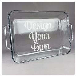 Design Your Own Glass Baking and Cake Dish