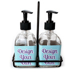 Design Your Own Soap & Lotion Dispenser Set (Glass) (Personalized)