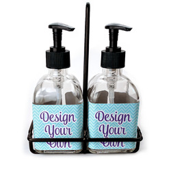 Soap & Lotion Dispenser Sets (Glass)