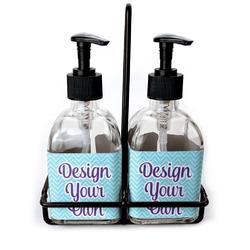 Soap & Lotion Dispenser Sets (Glass)