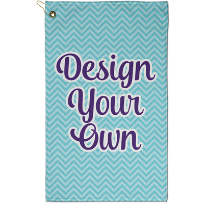 Design Your Own Golf Towel - Full Print - Small