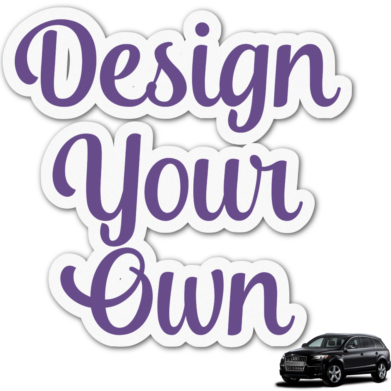 Design Your Own Graphic Car Decal Personalized