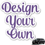 Design Your Own Graphic Car Decal (Personalized)