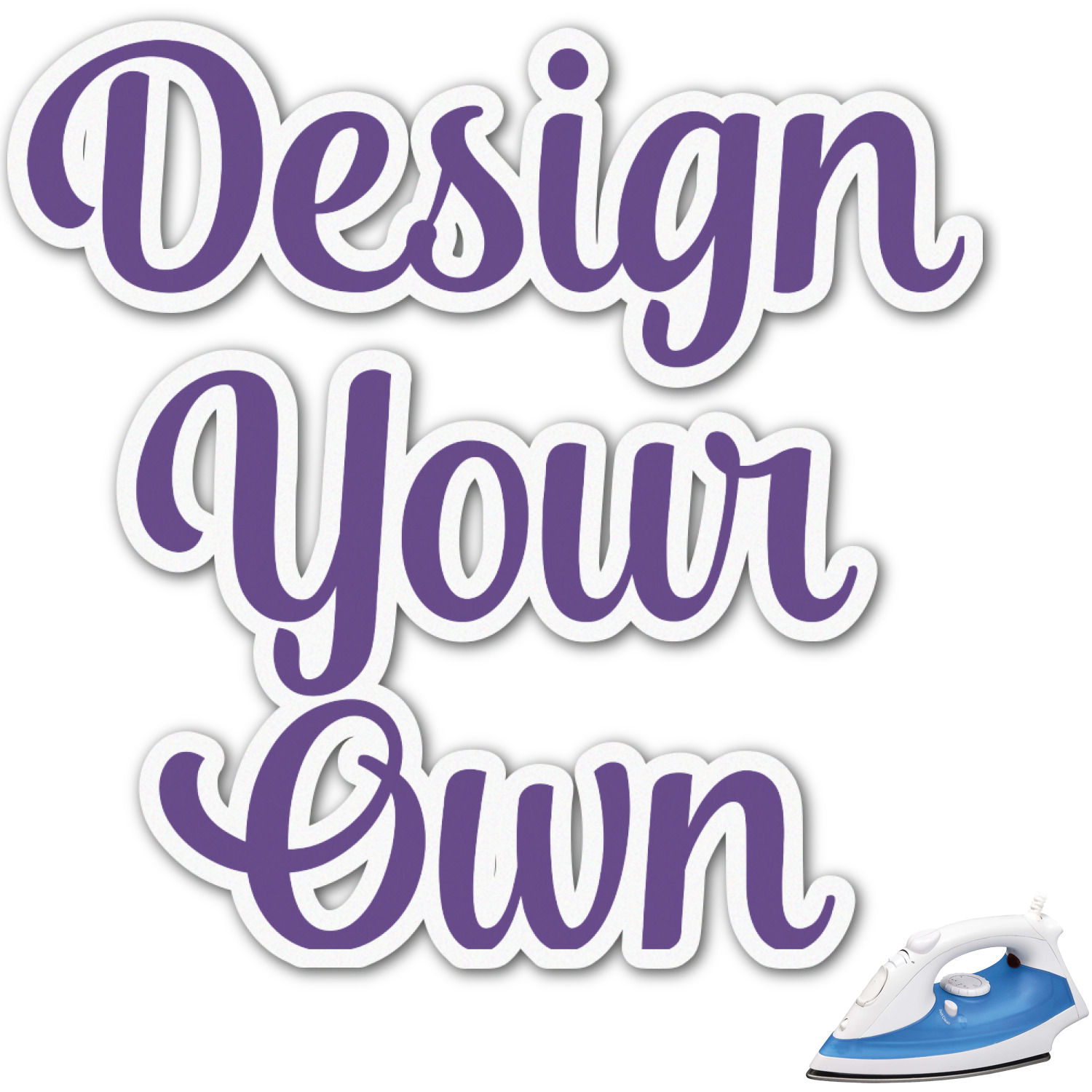 Design your own graphic iron on transfer up to 9 x9 for Create your own
