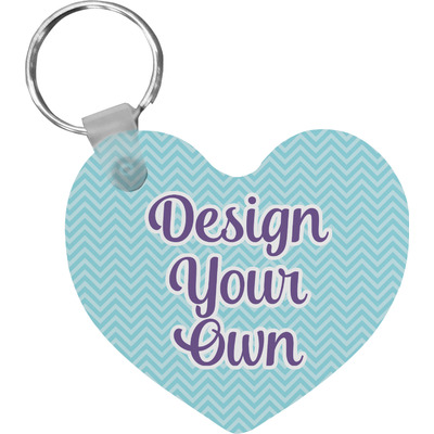 Design Your Own Personalized Heart Keychain