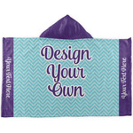 Design Your Own Kids Hooded Towel (Personalized)