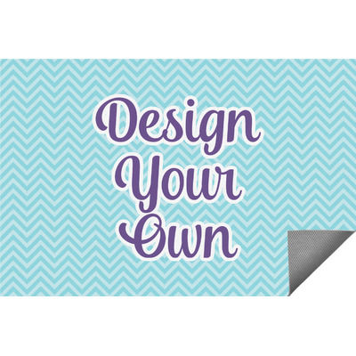Design Your Own Personalized Indoor / Outdoor Rug - 6'x9'