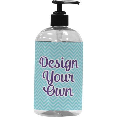 Design Your Own Plastic Soap / Lotion Dispenser (16 oz - Large) (Personalized)