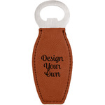 Design Your Own Leatherette Bottle Opener (Personalized)