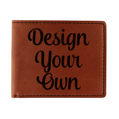 Design Your Own Personalized Leatherette Bifold Wallet