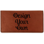 Design Your Own Leatherette Checkbook Holder (Personalized)