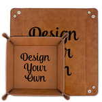 Design Your Own Faux Leather Valet Tray