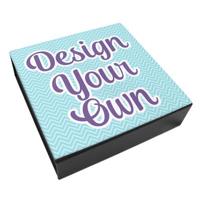 Design Your Own Personalized Leatherette Keepsake Box - 3 Sizes
