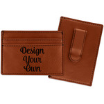 Design Your Own Leatherette Wallet with Money Clip