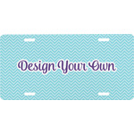 Design Your Own Front License Plate (Personalized)