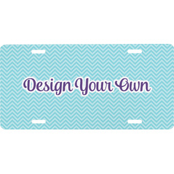 Design Your Own Front License Plate