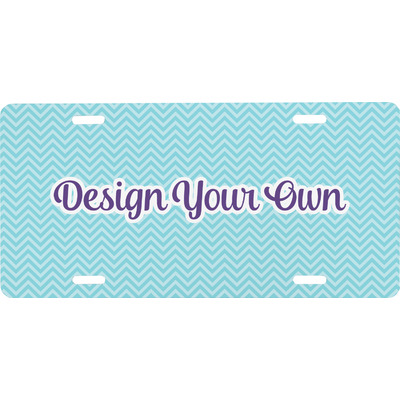 Design Your Own Personalized Front License Plate