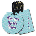 Design Your Own Plastic Luggage Tags