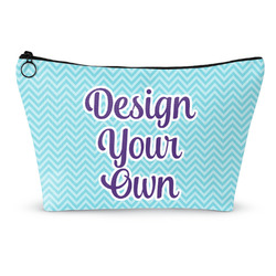 """Design Your Own Makeup Bag - Large - 12.5""""x7"""" (Personalized)"""