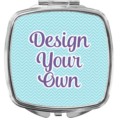Design Your Own Personalized Compact Makeup Mirror