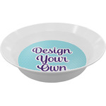 Design Your Own Melamine Bowl (Personalized)